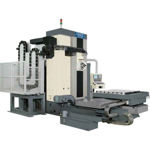 New Femco CNC Horizontal Boring Mill