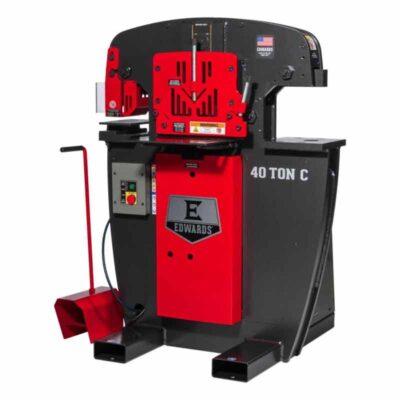40 Ton C New Edwards Ironworker