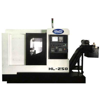 "8"" x 12"" New Femco CNC Lathe Model HL-250 Slant Bed"