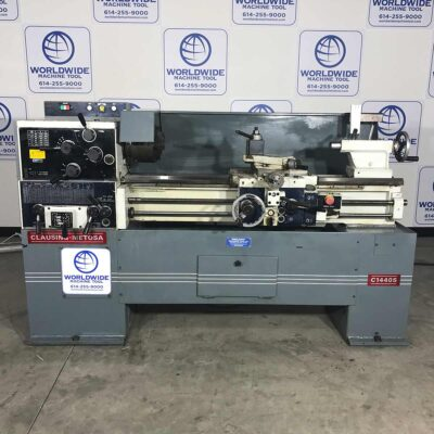 Used Clausing Metosa 14 x 40 Lathe for sale