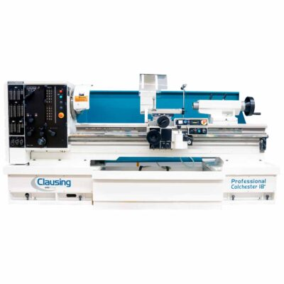 "18"" x 80"" New Clausing Colchester Lathe Variable Speed Professional Series Model 8055VSJ"