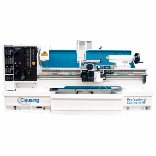 """18"""" x 80"""" New Clausing Colchester Lathe Variable Speed Professional Series Model 8055VSJ"""