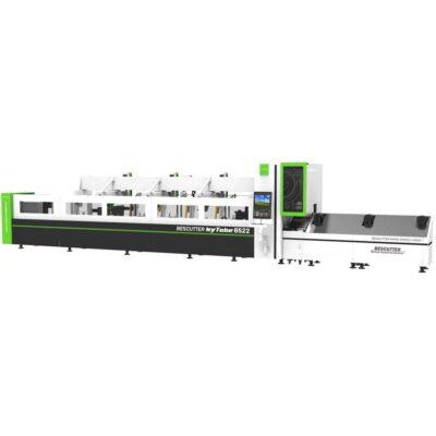 Hytube IPG fiber laser tube cutting machine with auto tube loading