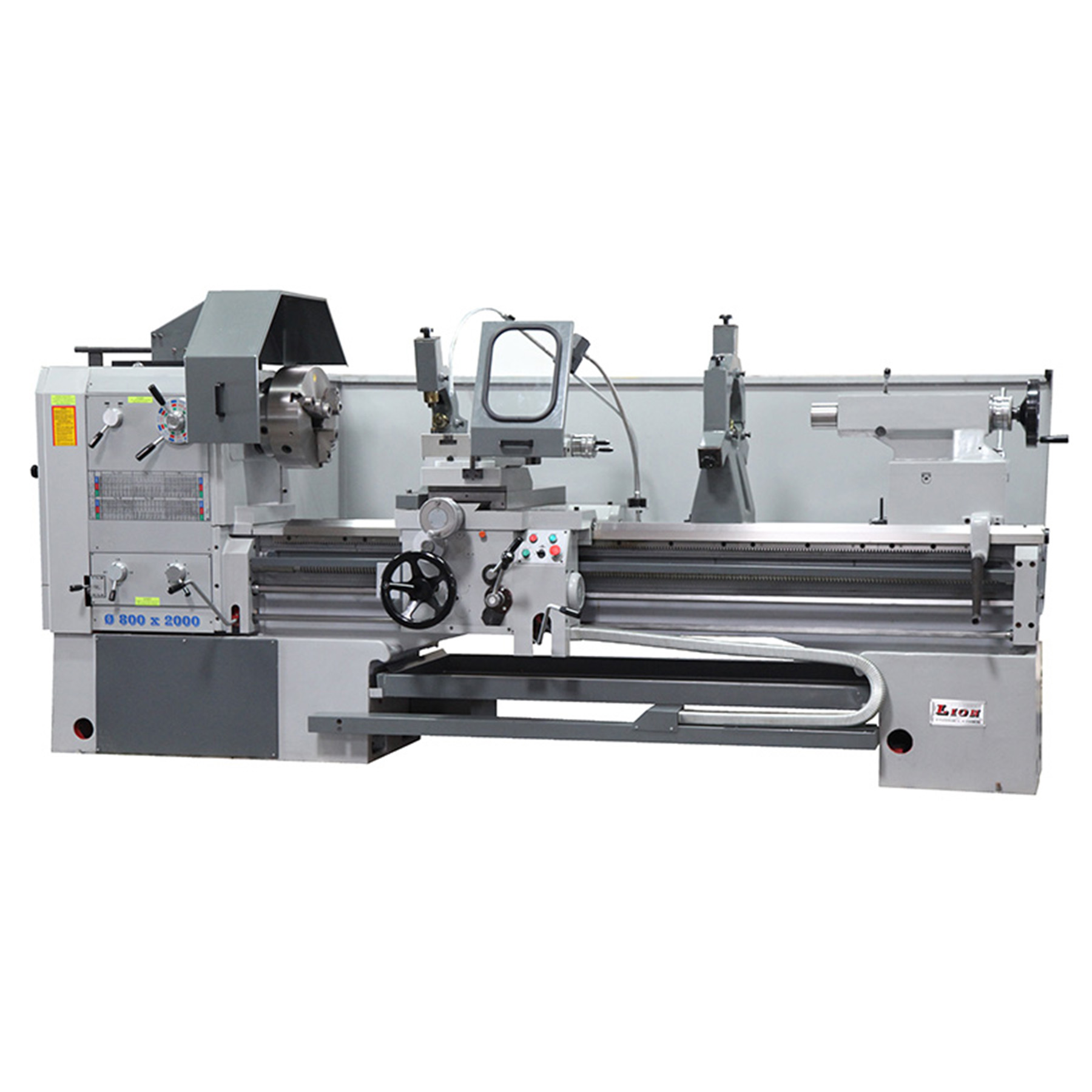 "30"" x 120"" New Lion Lathe MODEL 30-CU ENGINE LATHE 4"" Spindle Bore for sale Worldwide Machine Tool in Columbus Ohio call 614-255-9000"