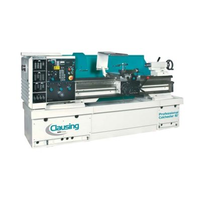 "The new Clausing lathe 15"" x 50"" geared head model 8043"