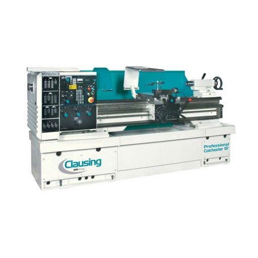 """The new Clausing lathe 15"""" x 50"""" geared head model 8043"""
