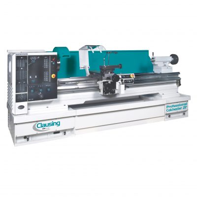 "Clausing Colchester lathe 32"" x 80"" variable speed gap bed for sale"