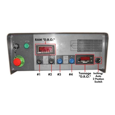 Haco Atlantic HDE Press Brake Control for sale at Worldwide Machine Tool