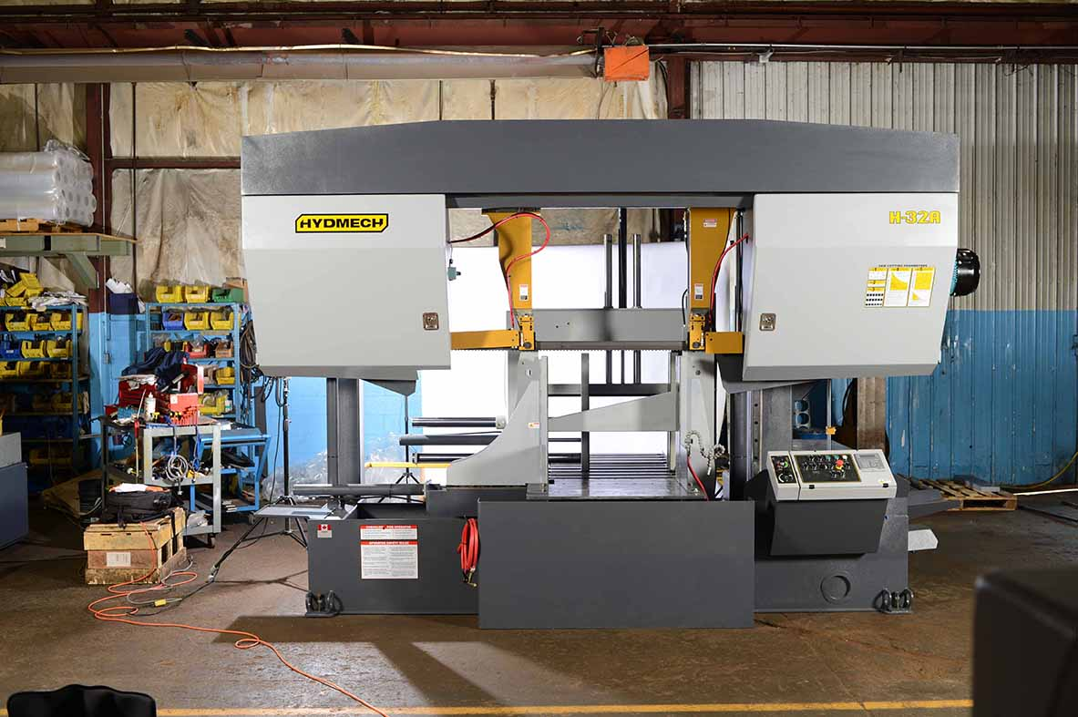 32 X 32 New Hyd Mech Horizontal Bandsaw For Sale At