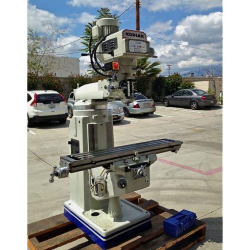 "9"" x 49"" New Kodiak Vertical Milling Machine Model KBPV-3949-C for sale at Worldwide Machine Tool"