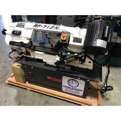 "New Kodiak 7"" x 12"" Horizontal Band Saw"