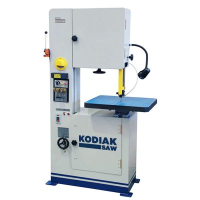 "18"" New Kodiak Vertical Bandsaw Model KVBS18 for sale at Worldwide Machine Tool"