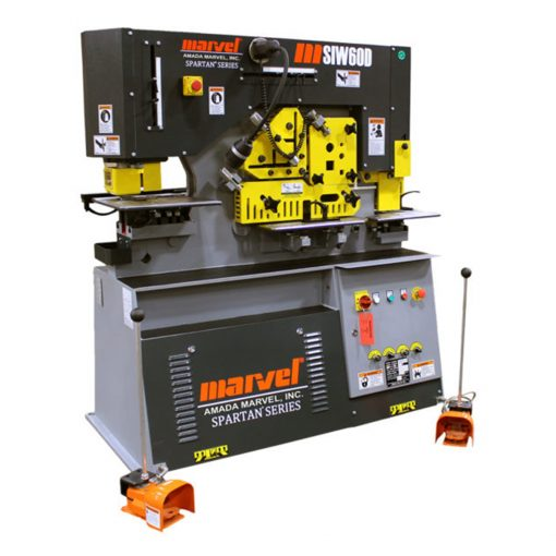 60 Ton New Marvel Ironworker Model MSIW60D for sale