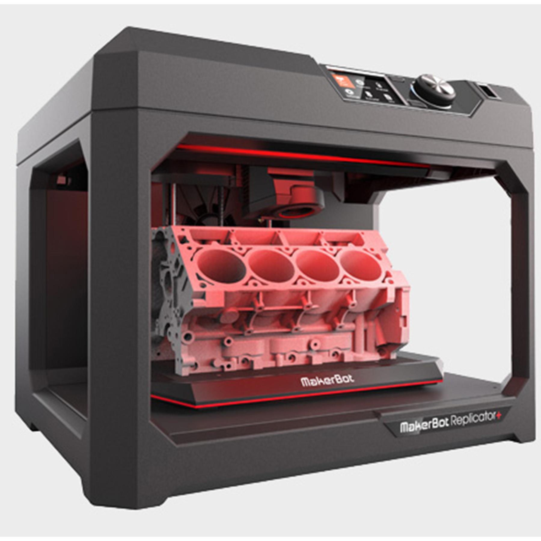 New Replicator+ Desktop 3D Printer