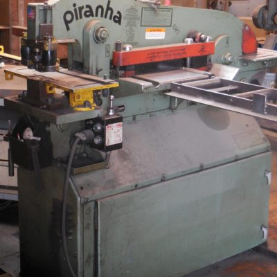 Used 50 Ton Piranha Ironworker For Sale