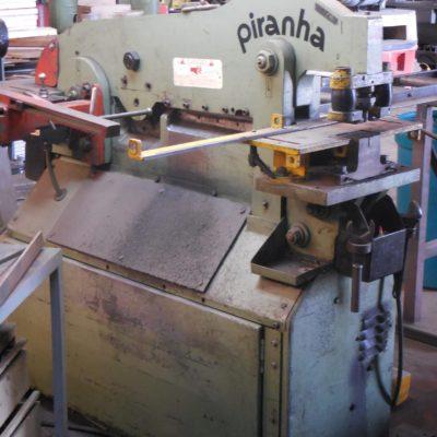 Piranha P50 used ironworker for sales at worldwide machine tool