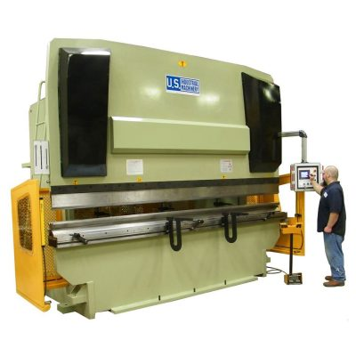New U.S. Industrial CNC Press Brake 8' x 88 ton hydraulic press brake for sale at Worldwide Machine Tool